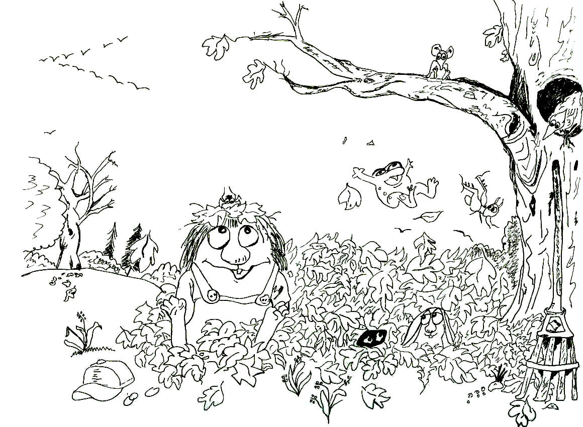 little critter coloring pages free - photo #36